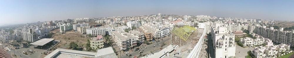 Kondhwa skyline c. 2005