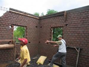 flyash brick walls