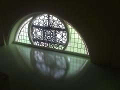 A window in the school