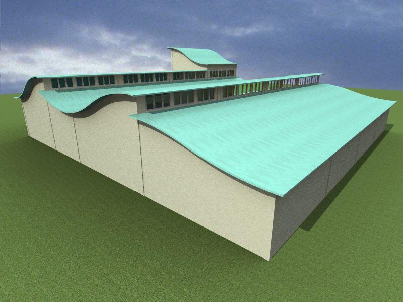 Psah factory bt square peg for Clerestory roof truss design