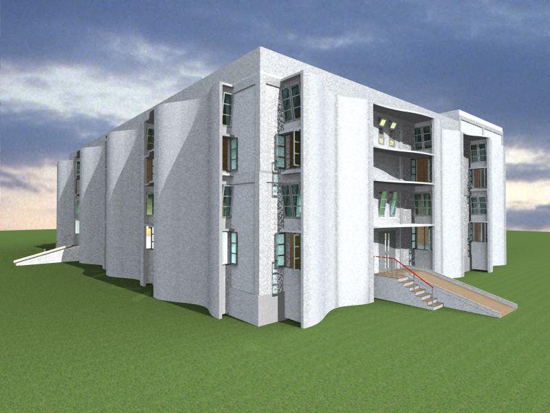 Psah factory bt square peg for Factory building design